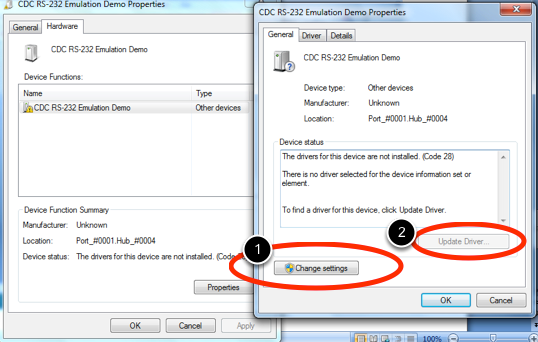 CDC RS-232 EMULATION WINDOWS 8.1 DRIVERS DOWNLOAD