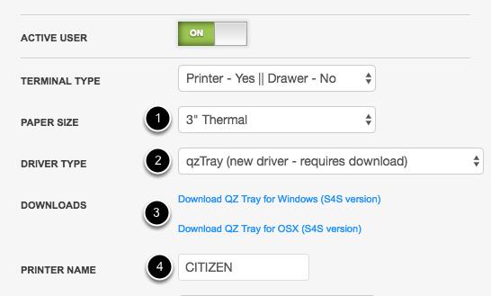 Printer Setup - 3